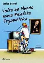 Livro - Volta ao mundo numa bicicleta ergométrica -