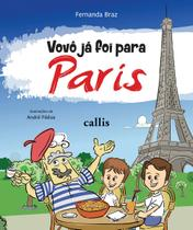 Livro - Vovô já foi para Paris -