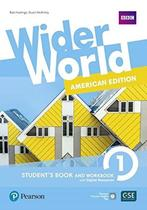 Livro - Wider World 1: American Edition - Student's Book and Workbook With Digital Resources + Online -