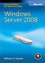 Livro - Windows Server 2008:Guia De Bolso Do Administrador -