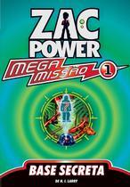 Livro - Zac Power Mega Missão 01 - Base Secreta -