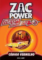 Livro - Zac Power Mega Missão 02 - Código Vermelho -