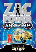Livro - Zac Power Spy Camp - Zac A Jato -