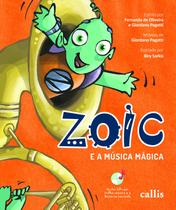 Livro - Zoic e a música mágica -