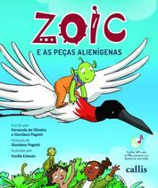 Livro - Zoic e as peças alienígenas -