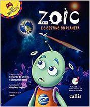 Livro - Zoic e o destino do planeta -