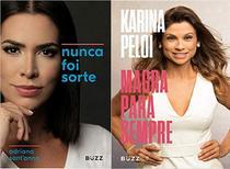 Livros - Kit: Nunca foi sorte + Magra para sempre - Buzz