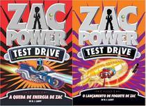 Livros - Kit: Zac power test drive 9 + Zac power test drive 11 - Fundamento