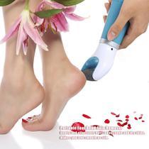 Lixa depe esfoliador e removedor de calos eletronico lixa de pé portatil pedicure - On Line