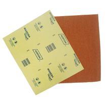 Lixa para madeira 22,5x27,5cm gramatura marrom 080 Norton -