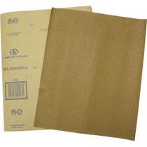 Lixa para Madeira Folha Grão 220 (50 Folhas) Carborundum -