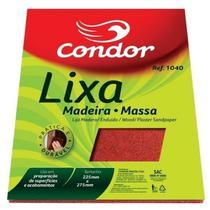 Lixa para madeira/massa condor  ref. 1040 -