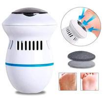 Lixa Para Pés Elétrica E Esfoliador Removedor Calos Usb Foot - VISION