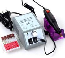 Lixa Unha Lixadeira Elétrica Motor Manicure Profissional Bivolt Portátil Acrigel Fibra -