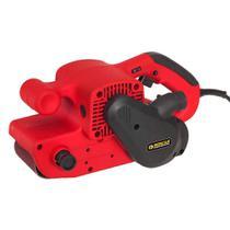 Lixadeira de Cinta Schulz Elétrica 900W Vermelho - 9290035-0 -