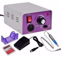 Lixadeira Elétrica Profissional Manicure E Pedicure C/ Pedal - Top Total