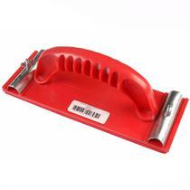 Lixadeira Manual Plástica Vermelha Sem Cartela sem Lixa Max -