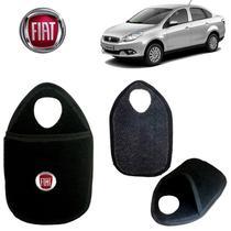 Lixeira Bordada Fiat Grand Siena Bordado - Gt