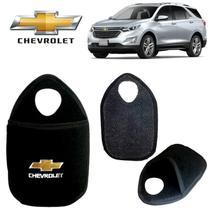 Lixeira Chevrolet Equinox Preto Bordado - Gt