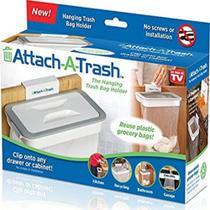 Lixeira de cozinha com tampa portatil para porta pia armario cesto suporte porta sacos de lixo - Makeda