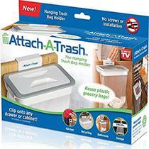 Lixeira de cozinha suporte porta sacos de lixo com tampa portatil para cesto porta pia armario - Makeda