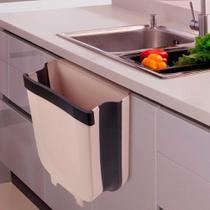 Lixeira Dobrável Cozinha Porta De Suspensão Press Pull - Box7