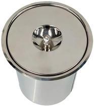 Lixeira Pia Cozinha Embutir Aço Inox 5 Litros - XCKZI