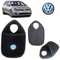 Lixeira Volkswagen Golf Variant Preto Bordado - Gt