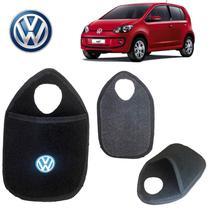 Lixeira Volkswagen Up Preto Bordado - Gt