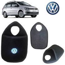 Lixo para Carro Volkswagen SpaceFox Preto Bordado - Gt