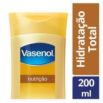 Loção Desodorante Hidratante Vasenol Hidratação Total Nutrição 200ml -