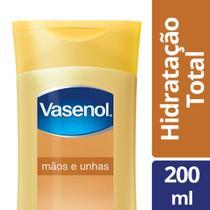 Loção Hidratante Desodorante para Vasenol Mãos e Unhas 200ml -