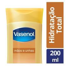 Loção Hidratante Vasenol Mãos E Unhas 200ml -