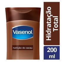 Loção Hidratante Vasenol Nutrição De Cacau 200ml -