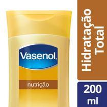 Loção Hidratante Vasenol Total Nutrição 200ml -