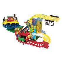 Locomotiva Maluca Trenzinho Infantil 560-4 Braskit -