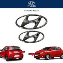 Logo Grade e Porta Malas Hyundai HB20 2018 Original Hyundai -