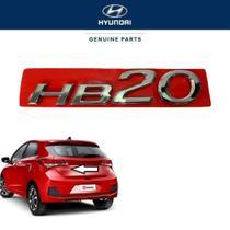 Logo Porta Malas Hyundai HB20 2018 Original Hyundai -