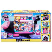 LOL Surprise OMG Avião Remix Plane - Candide 8962 -