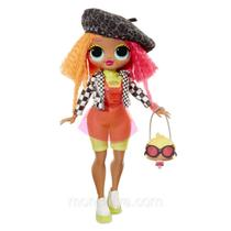 LOL Surprise! OMG Neonlicious Fashion Doll com 20 Surpresas - Candide