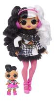 Lol Surprise Omg Winter Disco  Dollie E Dollface  -25 surpresas -  Candide -