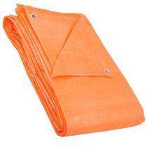 Lona de polietileno laranja 5 m x 5 m Nove54 Laranja -