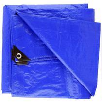 Lona Impermeável 2x3m Plástica Azul 75g/m Camping Starfer -