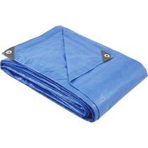 Lona Impermeável 4x3 M Plástica Azul Para Telhados Camping Barracas Forro - Vonder