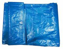 Lona plastica encerada azul 70g 10x5m - Ajax