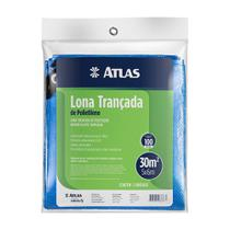 Lona Plástica Leve Azul Impermeável Carga Piscina 5x6 Mts - Atlas