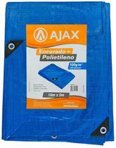 Lona Polietileno 10x5 150 Micras Multiuso Chuva Telhado - Ajax