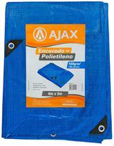 Lona Polietileno 6x5 150 Micras Multiuso Chuva Telhado - Ajax