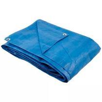 Lona Tipo Carreteiro Encerado Azul 70g/m2 10X5m - Ajax