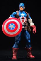 (loose) Marvel Legends 6-inch Captain America Ultimate Infinite 3-Pack - Hasbro